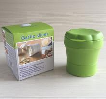 New arrival stainless steel garlic slicer / onion slicer / manual garlic chopper