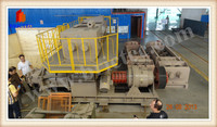 Fly ash brick making machine with complete brick production line and tunnel kiln