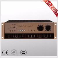 YAZOO SH-7600 300W*2 professional karaoke amplifier/KTV amplifier/high-power amplifier with USB/SD
