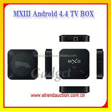 2015 Hot Selling Internet TV Box Amlogic S802 Quad Core Android TV Box with , DLNA, XBMC/KODI Function