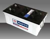 dry charged battery 12V36AH- 12V220AH with good price