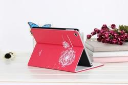 Low MOQ Dandelion Tablet Case For iPad mini 4 Leather Case Excellent Book Cover For iPad mini 4 dandelion wallet case