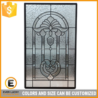 price stained glass door inserts uk