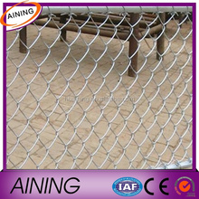 Electric galvanized chain link fence/chain link fence for sports field/chain link fence screen