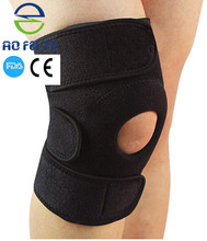 High quality neoprene knee support adjustable, climbing knee brace waterproof for basketball football