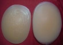 coussinets de gel de silicone de la hanche