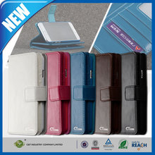 C&T Hot new products card holder flip pouch leather cover for iphone 6 plus