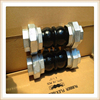 Thread Double Bellow Rubber Expansion Joint NBR PN10