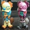 Cartoon pvc figurine, 3d plastic figurine toy, promotional custom 3d cartoon figurine