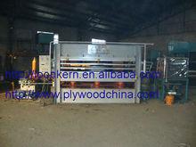 door pressing machine for wooden door / hydraulic automatic door making machine