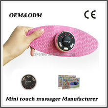 2015 hot selling Portable Electronic butterfly pad with oem mini electric personal massager