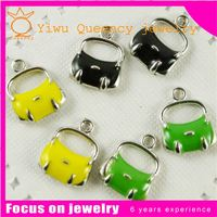 24.5X7.5mm 2g Metal Enamel furniture Chair Charm With Lobster Clasp