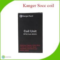Kanger newest SOCC Coil,Kanger Single Coils Protank SOCC Organic Cotton for Protank 2/Mini Protank 2