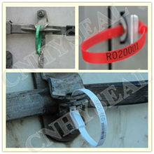 CH312 oil shipping security plastic seal