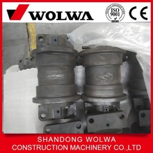 excavator bulldozer track roller with drawing design