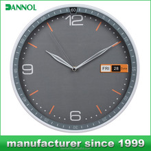 Guangzhou 12 inch Dated&Day calendar digital clock / wall clock / clock watch