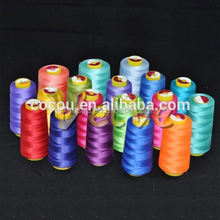 High end hemp yarn for sale hot selling cheap polyester core spun sewing thread china wholesale market yarn