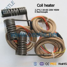 electrical Coil Spring Heater/ hot runner heaters with thermocouple