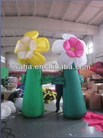 New brand night club decoration/decor inflatable flower/stage supply