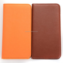 High quality mobile phones folio pu leather case for iphone 6 / plus with 3 ccard slots and money slots