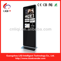 42 inch shopping mall advertising touch screen kiosk/ self-service kiosk touch screen/ 32 inch hotel touch kiosk