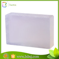 oem top quality bath rose herbal organic natural making transparent soap without alcohol