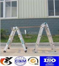 EN131 Step up ladder aluminium folding ladder