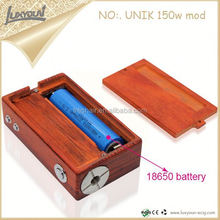 Wholesale Christmas ecig carbon fiber wood mods da vinci vaporizer for stock