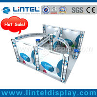 hot sale Lintel 20'*20'ft exhibition booth
