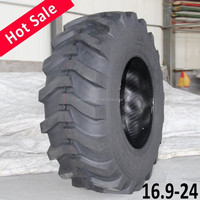 TAIHAO brand R4 Tractor backhoe tire 16.9-24