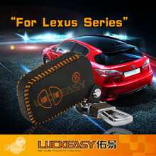 15 New Genuine Leather Car Keyless Shell Remote Smart Key Cover For Lexus Series