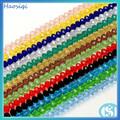 Cristal de los granos flojos de rondelle crystal glass beads