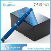 2015 Ecigmoke hottest LCD display 650mah Dry herb vaporizer ago vaporizer*Ago g5&ago g5 vaporizer