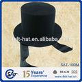 Sombreros de copa presidenciales de estilo formal, 100% de fieltro de lana