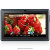 7 inch dual core Android 4.4 tablet pc with wifi external 3G tablets Q88 pro