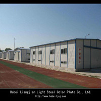 cheap and good design prefab house for worker's dormitory or office