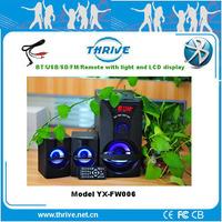 Dvd player /Mp3/TV /Stage/Karaok /computer / Mobile speaker bluetooth