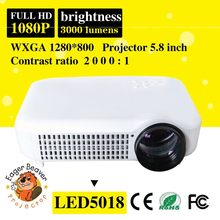 Projector theater 1280x800 smart trade assurance supply projector with 1280x800 promotion led projector light