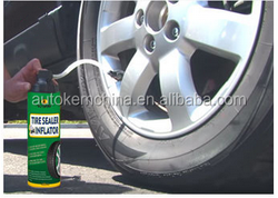 Tire Sealer and Inflator Tyre Sealant, Tire Repair Spray After Puncture / Automatic Tyre Inflator