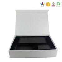 Black Magnetic Packing Box USB Flash Driver Printing Box