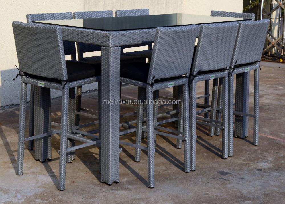 Myx exterior de la rota bar set muebles de la barra rota - Barra de bar exterior ...