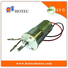 Customized adapted plate low noise reversible 30mm gearbox high torque 12v 24v dc motor