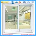 más vendido de polvo de aluminio revestido ventana corredera