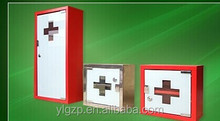 Stailness steel with powder coating for red metal medicine organizer box