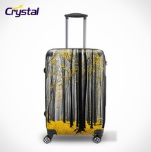Factory Wholesale Modern Print ABS/PC Luggage; Trolley Bag Sets; Travel Luggege Sets