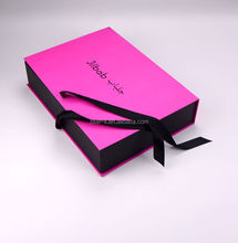 US$1000 cash coupon paris garment pink flat folding gift box