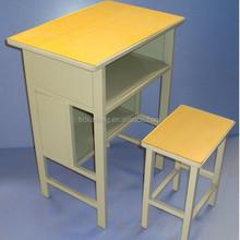 Metal Wooden School Desk and Chair School Furniture