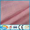 luxury satin check hotel bed sets cotton fabric for bed sheet ,bed linen, bleach / white/dyed fabric
