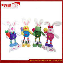 2015 Hot sale Easter Decoration Standing Bunny Toy Cute Animal Gifts