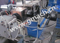 Extrusion melt gear pump for PET straps extrusion plant